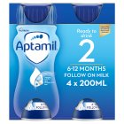 Aptamil Follow on Milk 6-12 months - 4x200ml