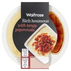 Waitrose Houmous with Peperonata - 135g