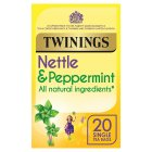 Twinings cleanse nettle & peppermint 20 tea bags