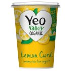 Yeo Valley Organic yogurt lemon curd