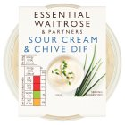 essential Waitrose sour cream & chive dip - 230g