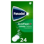 Panadol actifast soluble tablets - 24s