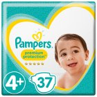 Pampers - 37s Size 4+