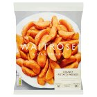 Waitrose frozen chunky potato wedges - 1kg