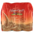 Slim.fast! café latte 6 pack shake - 6x325ml Brand Price Match - Checked Tesco.com 29/04/2015