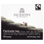 Jacksons of Piccadilly Fairtrade tea 80 tea bags - 250g