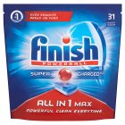 Finish All in One Max Original Dishwasher Tablets, x34 - 615g