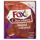 Fox's chocolatey mini caramel