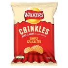 Walkers Crinkles simply sea salted sharing crisps - 150g Brand Price Match - Checked Tesco.com 30/07/2014
