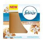 Febreze candle soothing sandalwood - 100g