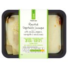 Waitrose LoveLife Calorie Controlled roasted vegetable lasagne - 400g