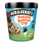 Ben & Jerry's peanut butter cup ice cream - 500ml Brand Price Match - Checked Tesco.com 30/07/2014