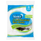 Minky anti bacterial high quality dish cloths (pack of 2)