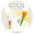 essential Waitrose cheese & chive dip - 230g