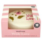 Waitrose with love cake