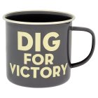 Thoughtful Gardener Dig for Victory mug - each