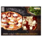 menu from Waitrose buffalo mozzarella & tomato pizza