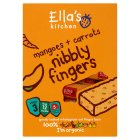 Ella's Kitchen Organic mangoes and carrots nibbly fingers baby food - 5x25g