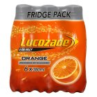 Lucozade energy orange - 6x380ml