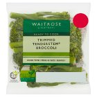 Waitrose Trimmed tenderstem broccoli - 80g