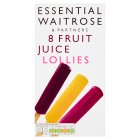 essential Waitrose fruit juice lollies - 8x35ml