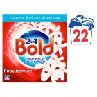 Bold 2in1 Rose & Peony Powder 1.76KG laundry detergent 22 washes