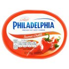 Philadelphia Light with sweet chilli soft white cheese - 170g Brand Price Match - Checked Tesco.com 20/07/2016
