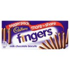Cadbury fingers milk chocolate - 171g Brand Price Match - Checked Tesco.com 17/12/2014