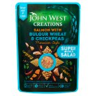 John West Creations Salmon with Bulgur Wheat & Chickpeas - 180g