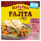 Old El Paso Crispy Chicken Fajita Kit - 555g