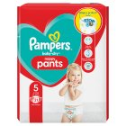 Pampers Baby Dry 5 12-18kg - 21s Introductory Offer
