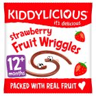 Kiddylicis fruit strawberry wriggles - 12g Brand Price Match - Checked Tesco.com 01/07/2015