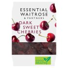 essential Waitrose Dark Sweet Pitted Cherries - 350g