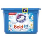 Bold 2in1 Crystal Rain & White Lily Liquitabs  Laundry Detergent 20 washes