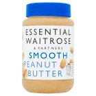 essential Waitrose smooth peanut butter - 454g