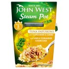 John West steam pot tuna infusions coriander & cumin - 150g