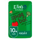 Ella's Kitchen Organic lip smacking spag bol with a sprinkle of cheese  - stage 3 baby food - 190g Brand Price Match - Checked Tesco.com 16/07/2014