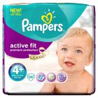 Pampers Active Fit 4+ Essential 36 Nappies - 36s