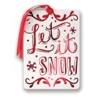 Waitrose Let it Snow Gift Tags - 8s