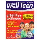 Vitabiotics wellTeen vitality & wellness - 30s Brand Price Match - Checked Tesco.com 14/04/2014