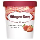 Haagen Dazs Strawberries & Cream - 500ml