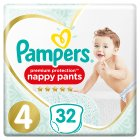 Pampers Active Fit Nappy Pants - 32s Size 4