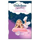 Pampers Underjams Girl, Small to Medium 10s - 10s