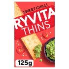 Ryvita thins sweet chilli - 125g Brand Price Match - Checked Tesco.com 27/07/2015