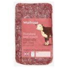 Waitrose Hereford Beef Mince 10% Fat - 400g