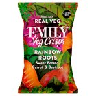 Emily Veg Crisps Sweet Potato, Carrot & Beetroot - 80g