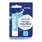 Nivea hydro care lips - 4.8g Brand Price Match - Checked Tesco.com 23/04/2014