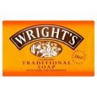 Wright's traditional coal soap - 1 bar - 125g Brand Price Match - Checked Tesco.com 05/03/2014