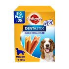 Pedigree dentastix 28 sticks 10-25kg - 4x180g