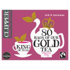 Clipper Fairtrade 80 Gold Tea Bags - 250g